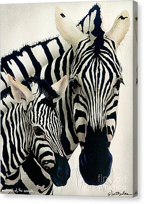 Madonna Of The Serengeti... Canvas Print by Will Bullas