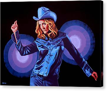 Madonna Painting Canvas Print