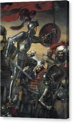 Madrazo, Jos� 1781-1859. Assault Canvas Print by Everett