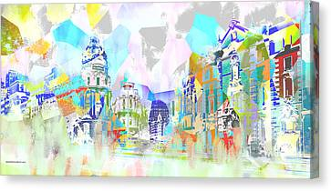 Madrid 1 Canvas Print
