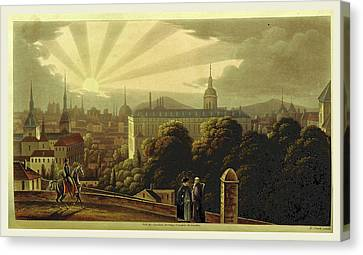 Madrid In 1835. Sketches Of The Metropolis Of Spain Canvas Print