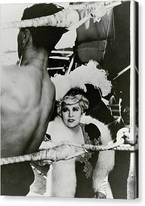 Mae West On The Set Of It Ain't No Sin Canvas Print