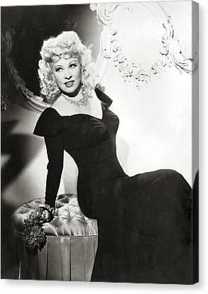 Mae West Canvas Print by Studio Photo