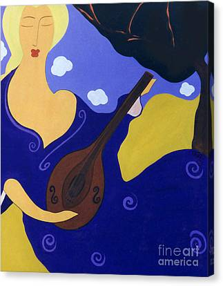 Magdelinas Song Canvas Print