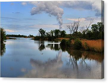 Magee Marsh Reflection Canvas Print