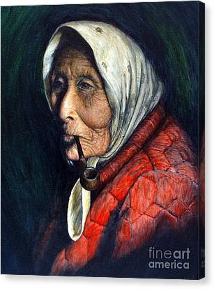 Grandmother Canvas Print - Maggie by Joey Nash