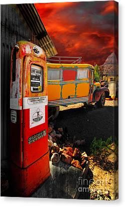 Magic Bus Ride Canvas Print