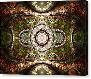 Magic Carpet Canvas Print by Anastasiya Malakhova