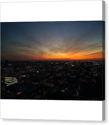 Igdaily Canvas Print - Magic City - Miami by Joel Lopez