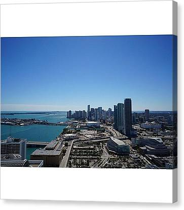 Magic City Skyline Canvas Print by Joel Lopez