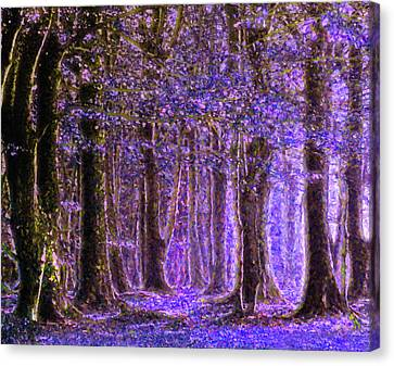 Magic Forest - Impressionism Canvas Print by Georgiana Romanovna