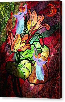 Magic Garden Canvas Print by Mary Anne Ritchie