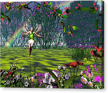 Magic Garden Canvas Print by Michele Wilson