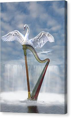 Magic Harp  Canvas Print
