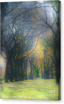 Magic. Here. In Nyc Canvas Print by Gabrielle Schertz