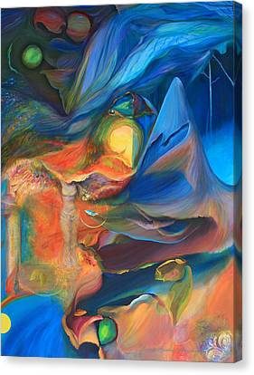Magic In The Air - Art Only Canvas Print by Brooks Garten Hauschild