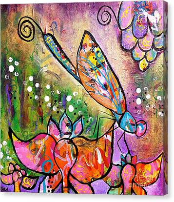 Magic In The Garden Canvas Print