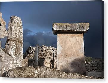 Bronze Edge In Minorca Called Talaiotic Age Unique At World - Magic Island 1 Canvas Print