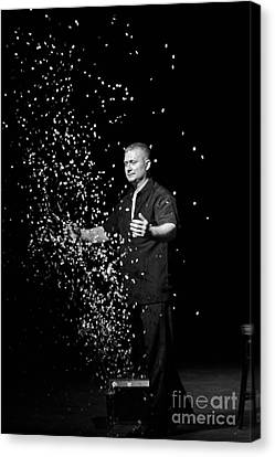 Magic Man Canvas Print by Randall  Cogle