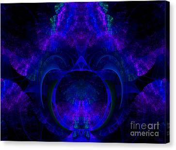 Magic Of Night Canvas Print by Hanza Turgul
