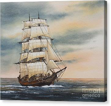 Magic Of The Sea Canvas Print by James Williamson