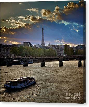 Magic Paris Canvas Print