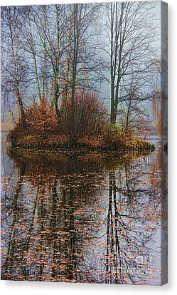 Magic Reflection Canvas Print by Mariola Bitner