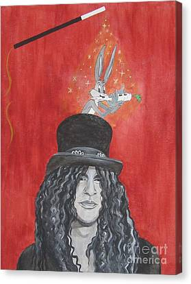 Magic Slash Canvas Print