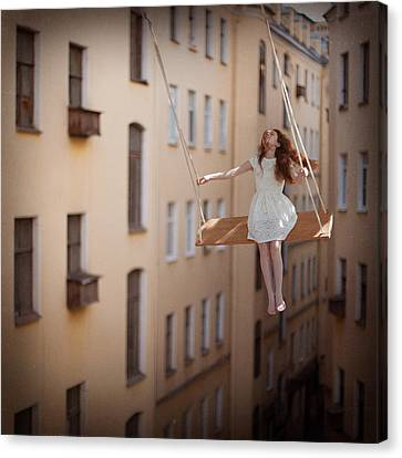 Magic Swings Canvas Print by Anka Zhuravleva