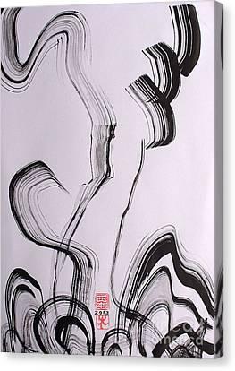 Magic Canvas Print by Taikan Nishimoto