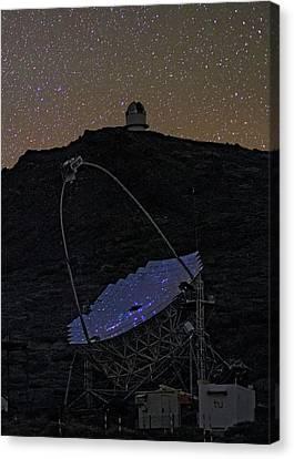 Magic Telescope Canvas Print by Babak Tafreshi