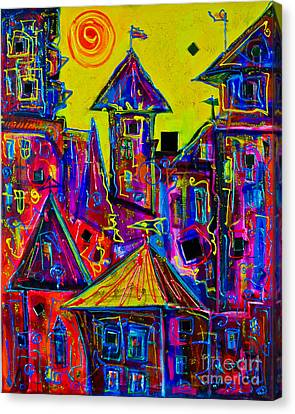 Magic Town 2 Canvas Print
