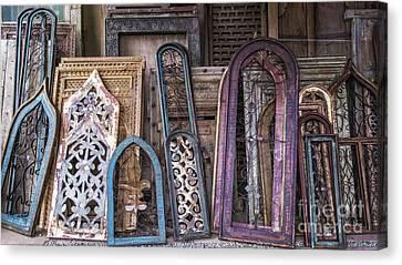 Magic Windows Canvas Print