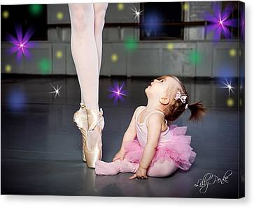 Magical Ballet Canvas Print by Lilly Penke