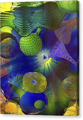 Magical Glass 2 Canvas Print by Elvira Butler