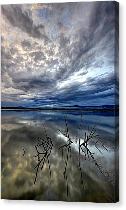 Magical Lake - Vertical Canvas Print