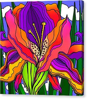 Magical Mystery Garden Canvas Print