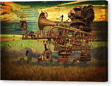 Magical Mystery Tour Canvas Print by Duncan Roberts