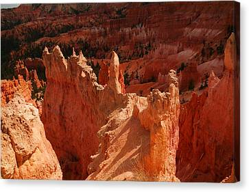 Magical Orange Rock Canvas Print