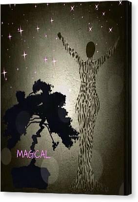 Magical Canvas Print by Romaine Head