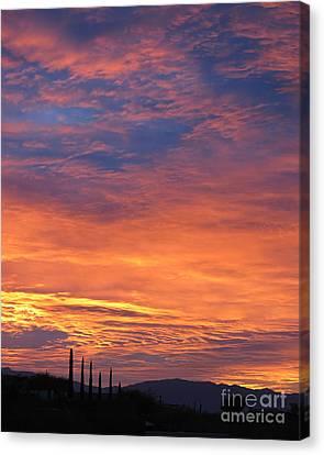 Magical Sunrise Canvas Print
