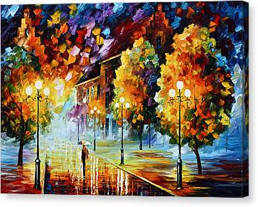 Magical Time Canvas Print by Leonid Afremov