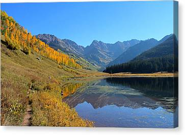 Magical View Canvas Print