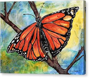 Magnificant Monarch Canvas Print