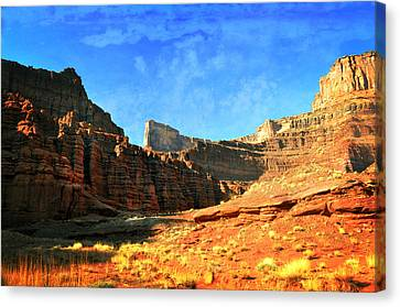 Magnificent Butte Canvas Print by Marty Koch