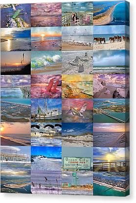 Magnificent Coastal North Carolina Canvas Print by Betsy Knapp