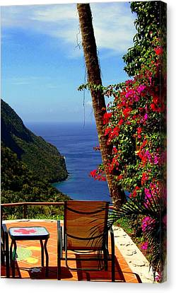 Magnificent Ladera Canvas Print by Karen Wiles