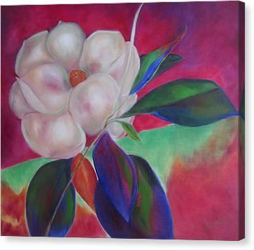 Magnolia I Canvas Print by Susan Hanlon