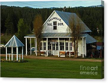 Canvas Print featuring the photograph Magnolia Saloon by Sam Rosen