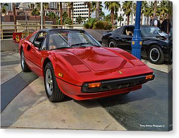 Magnum Pi Canvas Print by Tommy Anderson